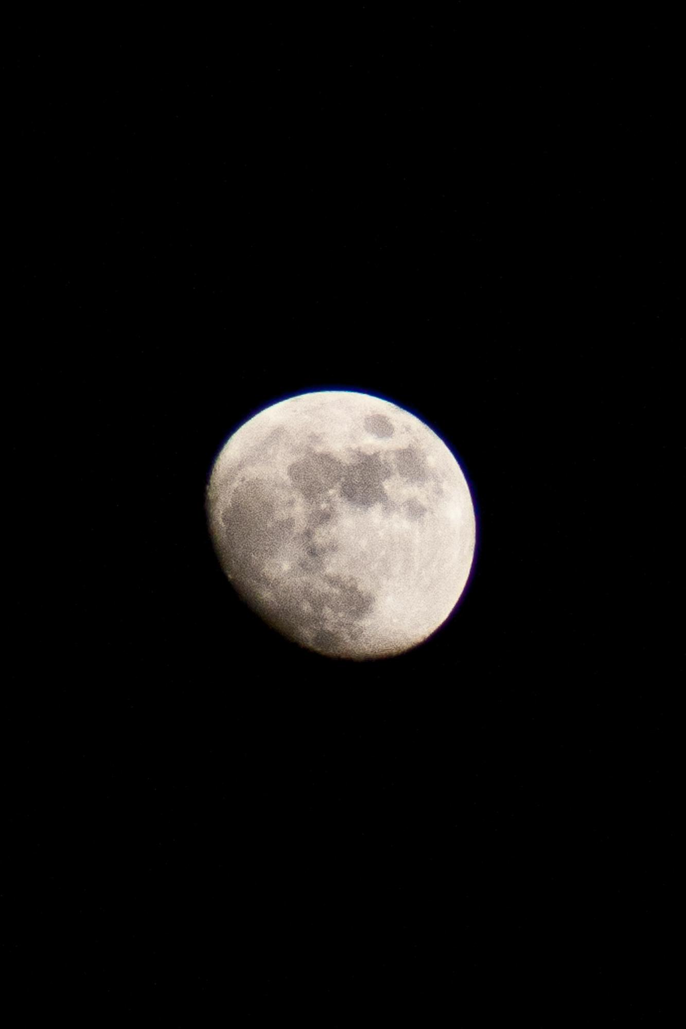 The silent moon